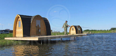 World's best fishing hut